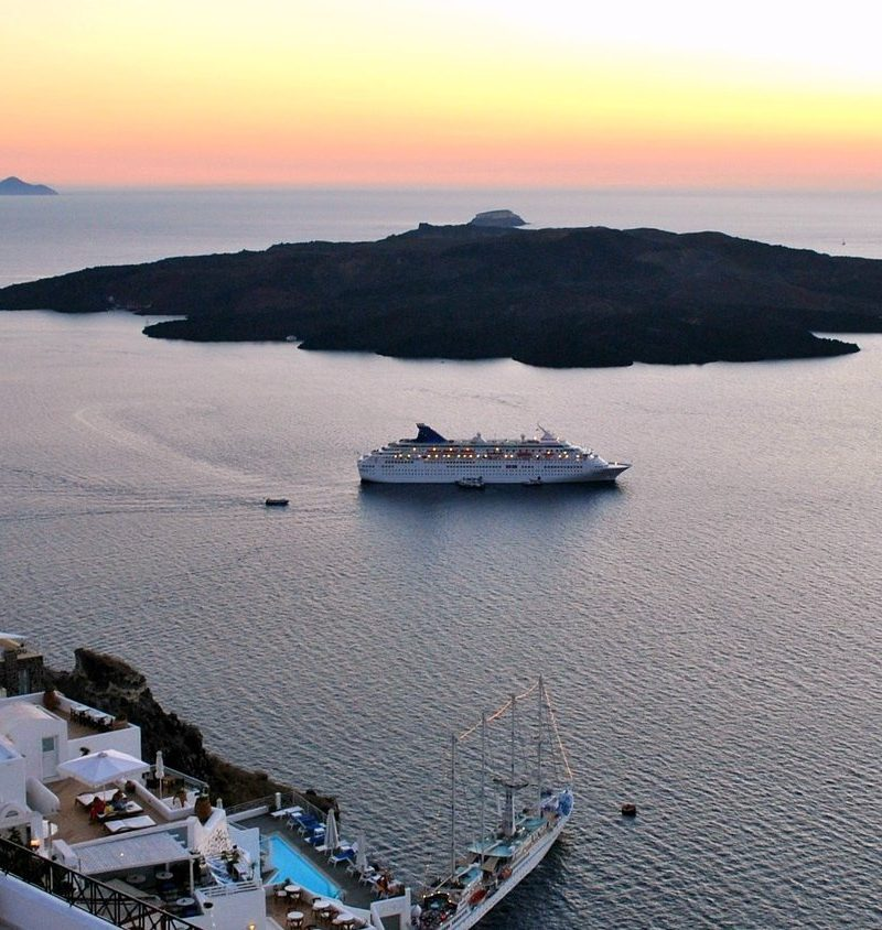 Santorini Celestyal Olympia cruise ship - Cruises in Greece - Greek cruises - Tours in Greece - Greek Travel Packages - Cruise Greek islands - Travel Agency in Greece