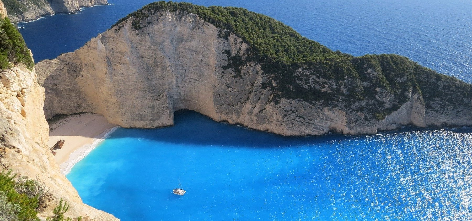 Zakynthos - Zante - shipwreck - Atlantis Travel Agency - Tours in Greece - Greek travel packages