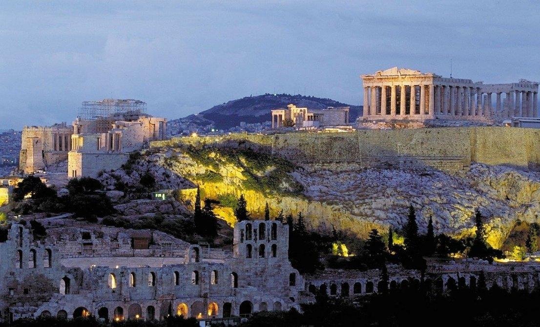 Athens (Piraeus port) - Acropolis