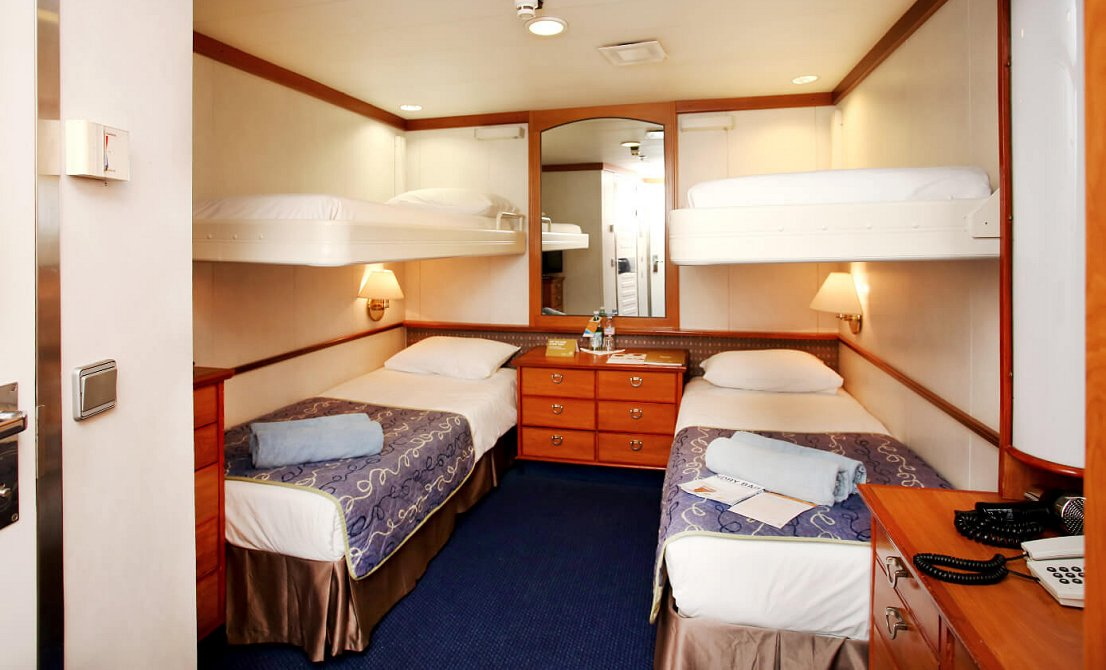 Celestyal Crystal - Categories IA - IB - IC - Interior Staterooms