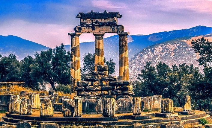 Delphi - Tholos of Athena Pronea