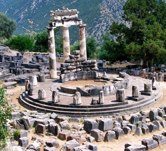 Delphi Tholos of Athena Pronea