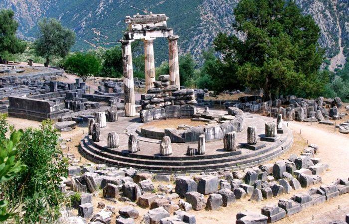 Delphi Tholos of Athena Pronea