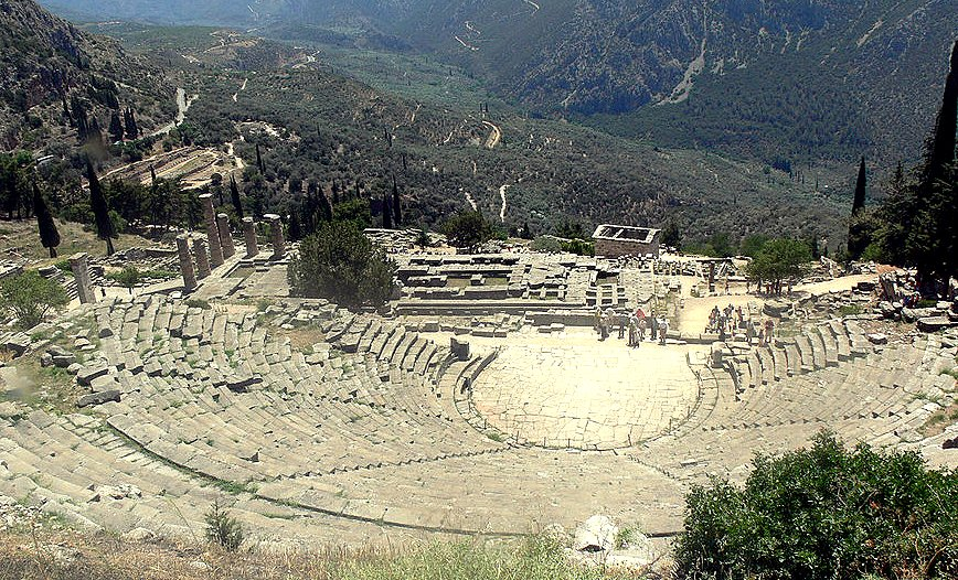 Delphi - ancient theater
