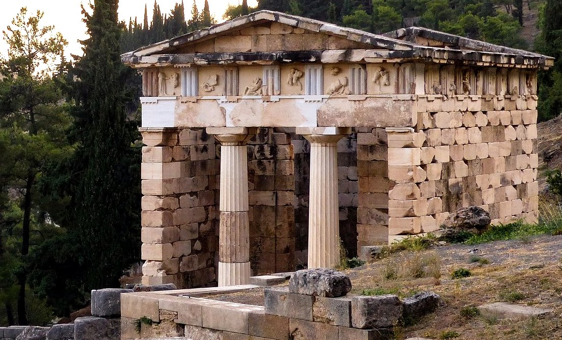 Delphi - archaeological site