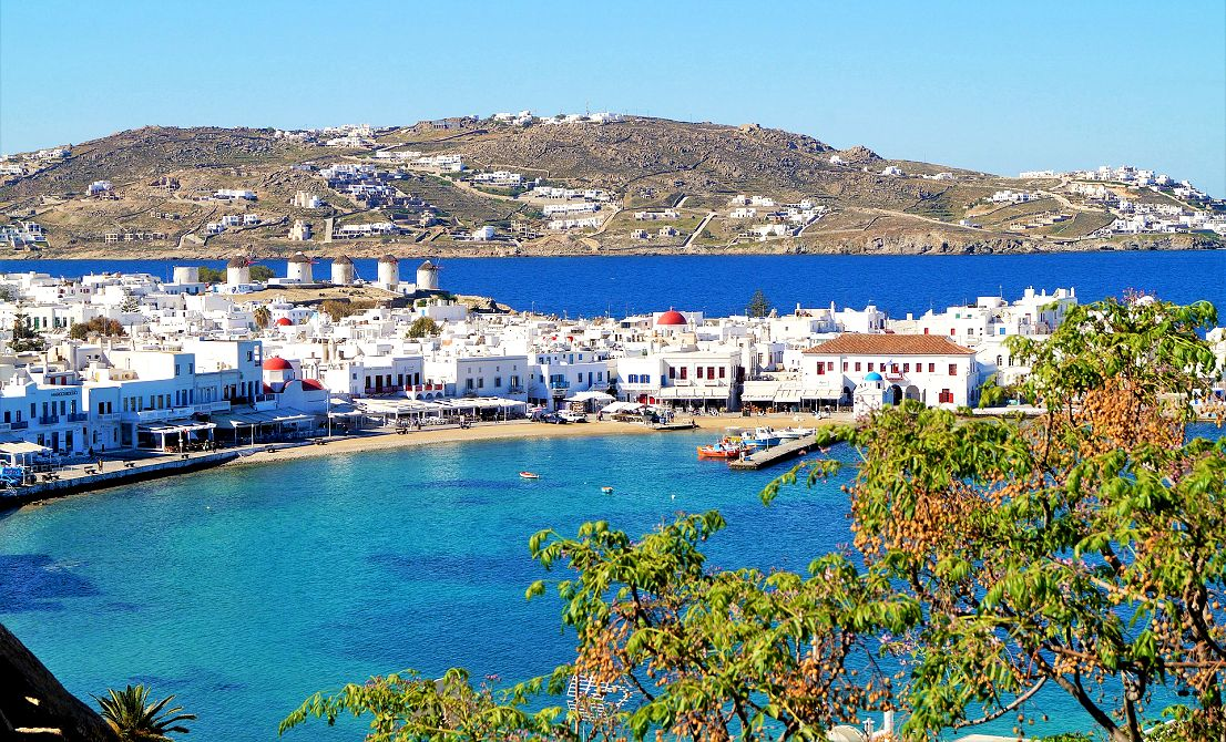 Mykonos - old port