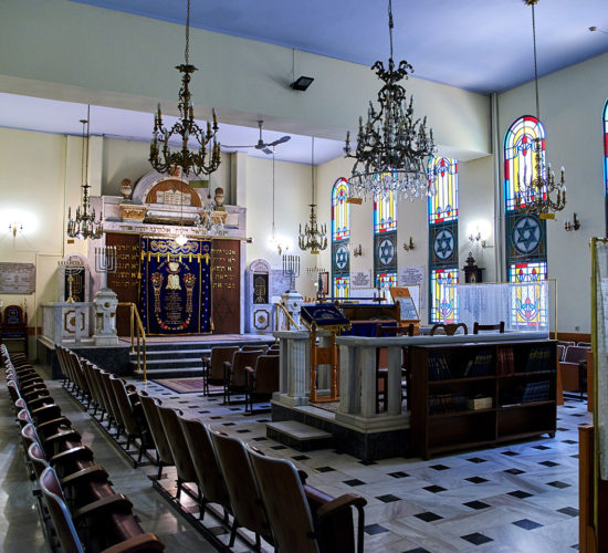Thessaloniki - Lezicaron Synagogue
