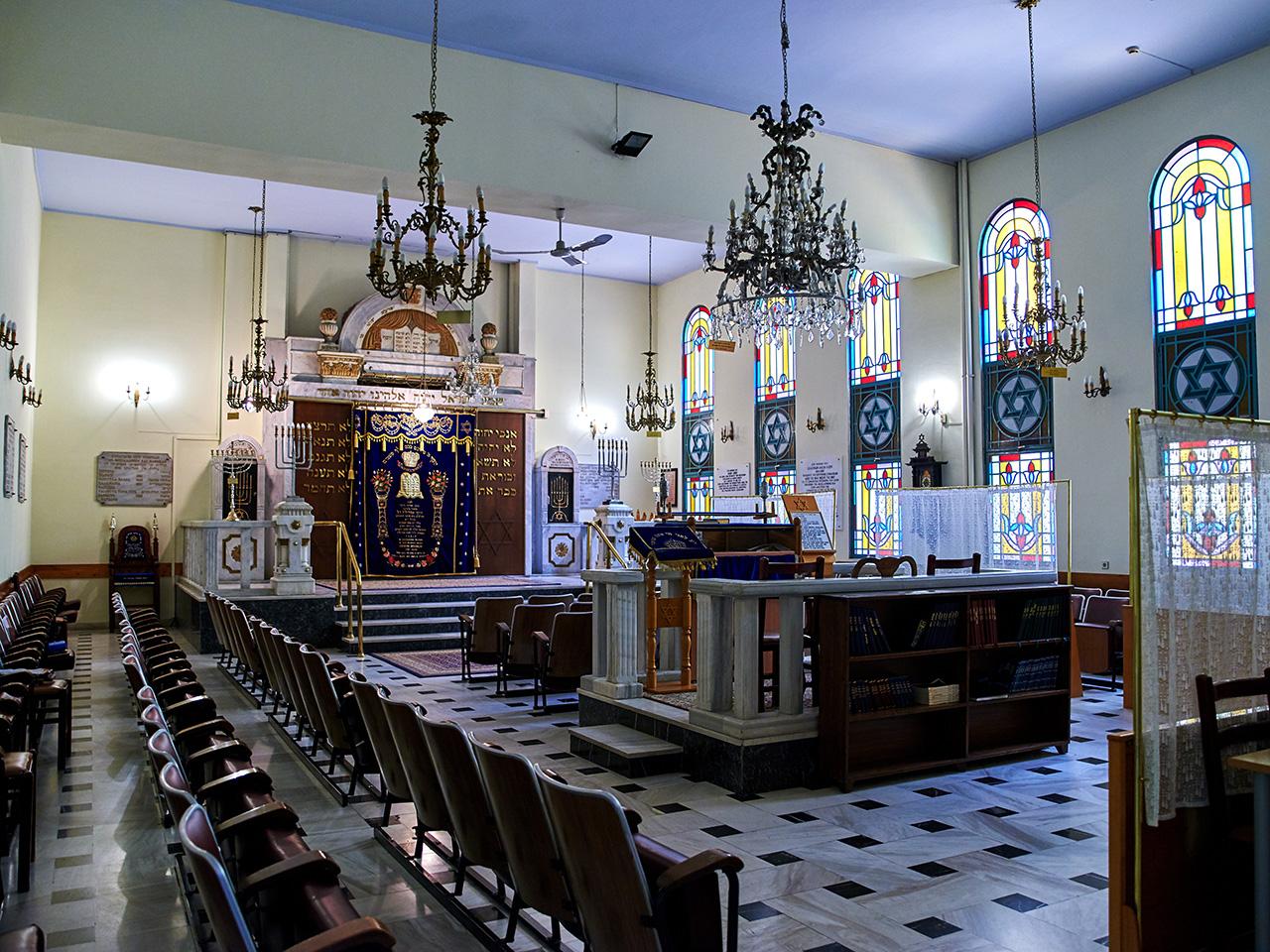 Thessaloniki - Lezicaron Synagogue