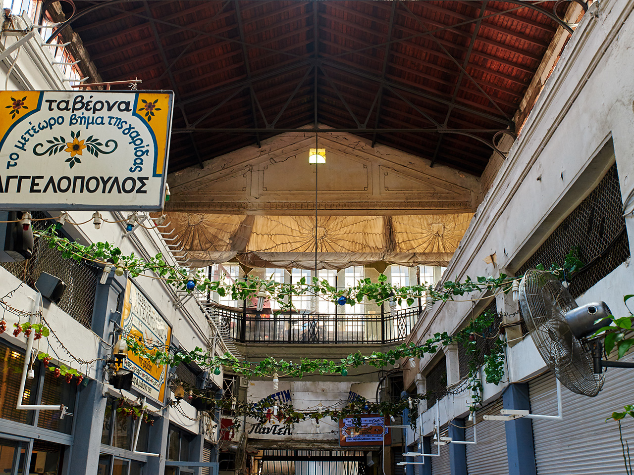 Thessaloniki Jewish Tour - Modiano Market