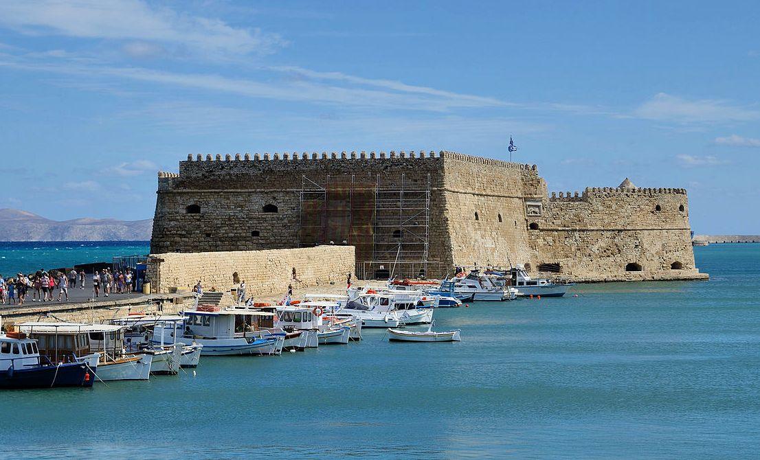 Heraklion old port - Crete
