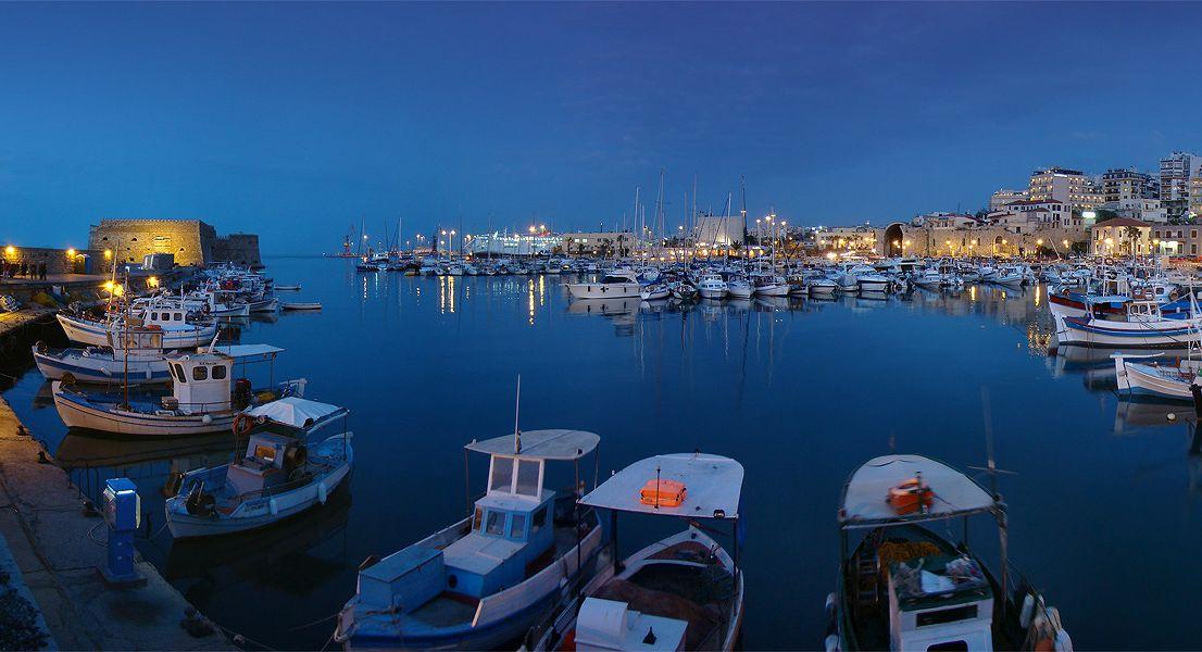 Heraklion old port - Crete island - Greece
