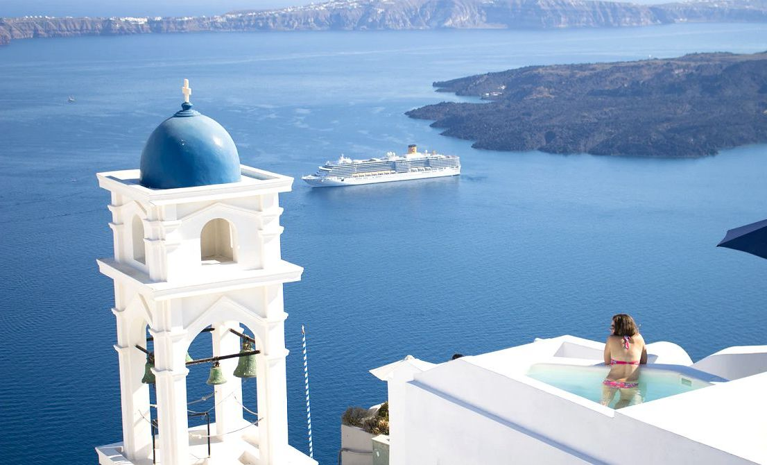 Santorini Greek island - Cruises in Greece - Greek cruises - Tours in Greece - Greek Travel Packages - Cruise Greek islands - Travel Agency in Greece