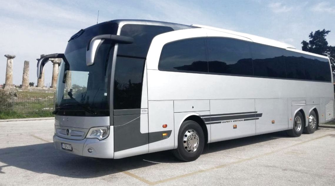 Transfers in Athens Greece, by a modern coach